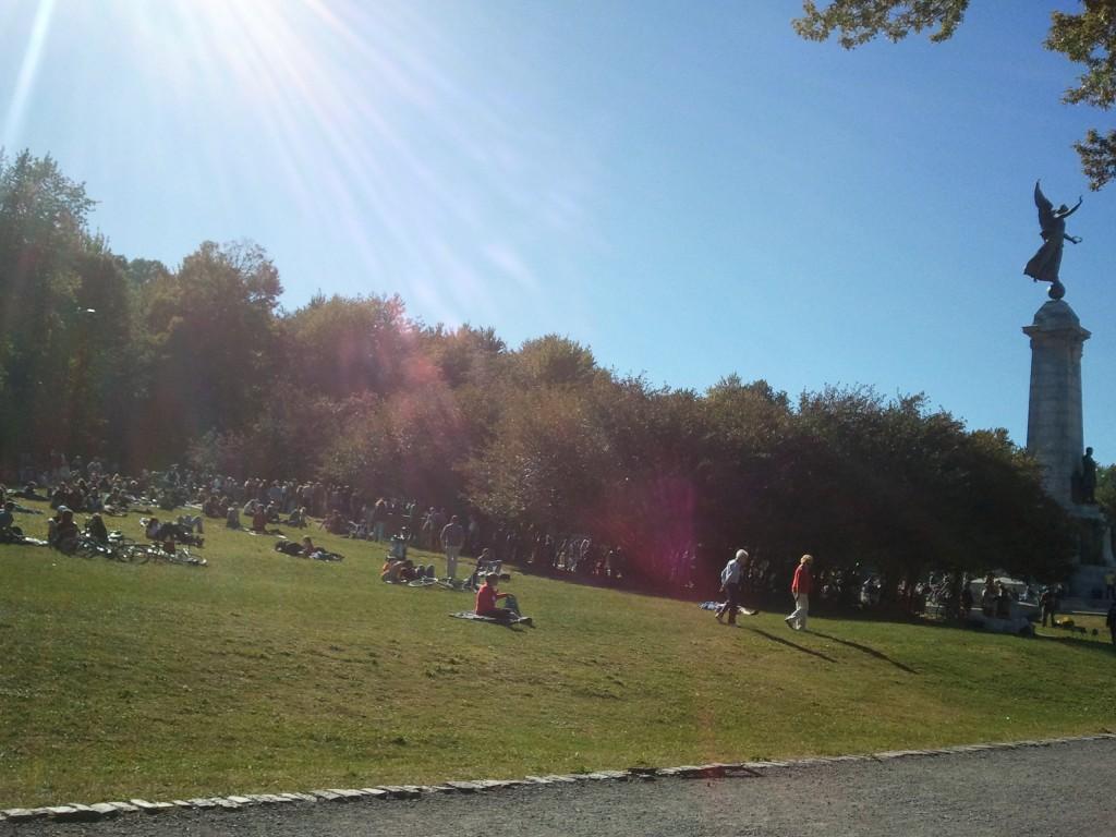 Parc Mont-Royal le dimanche