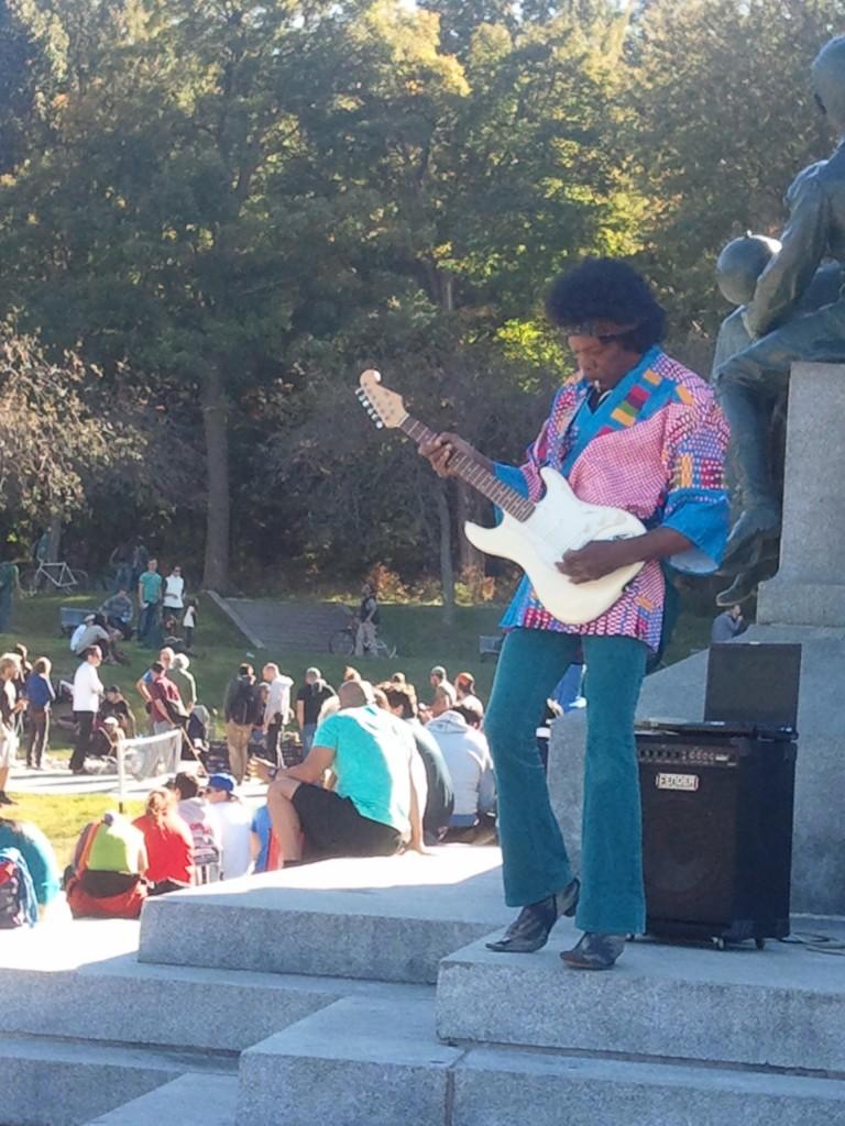 Jimy Hendrix is alive... ou pas