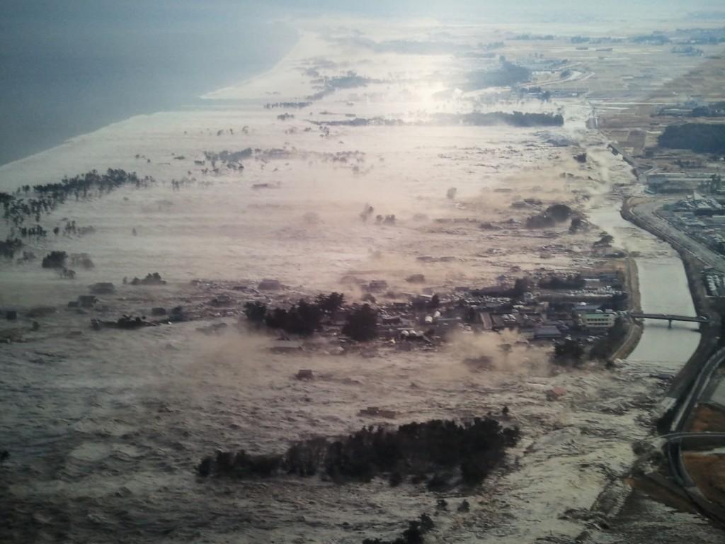 Le Tsunami du Japon
