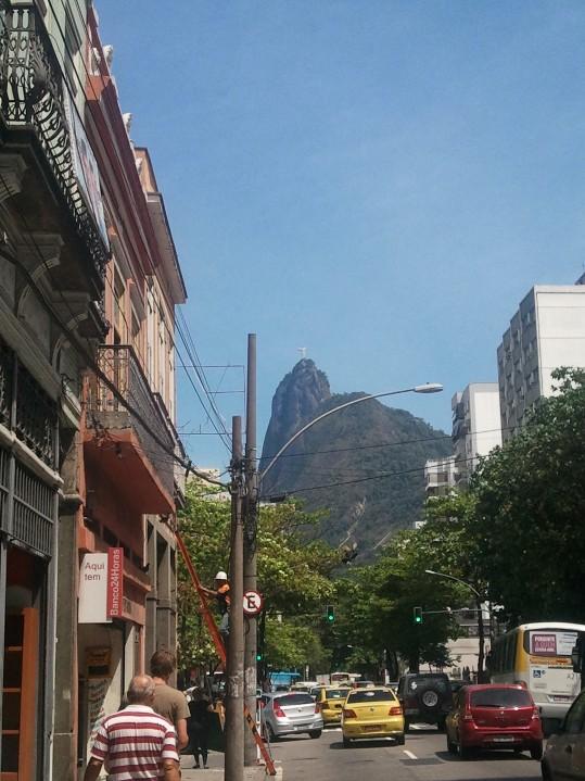 Corcovado vu du quartier de Botafogo
