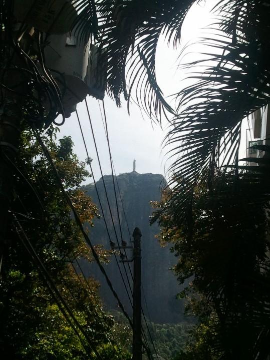 Corcovado vu du quartier du jardin botanique