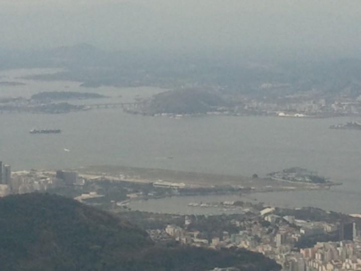 La baie de Rio vu de Corcovado