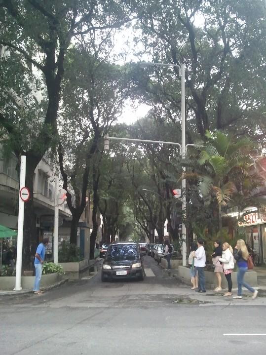 Une rue classique de Rio