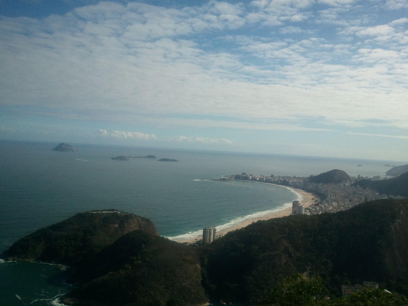 Copacabana vu du pain de sucre