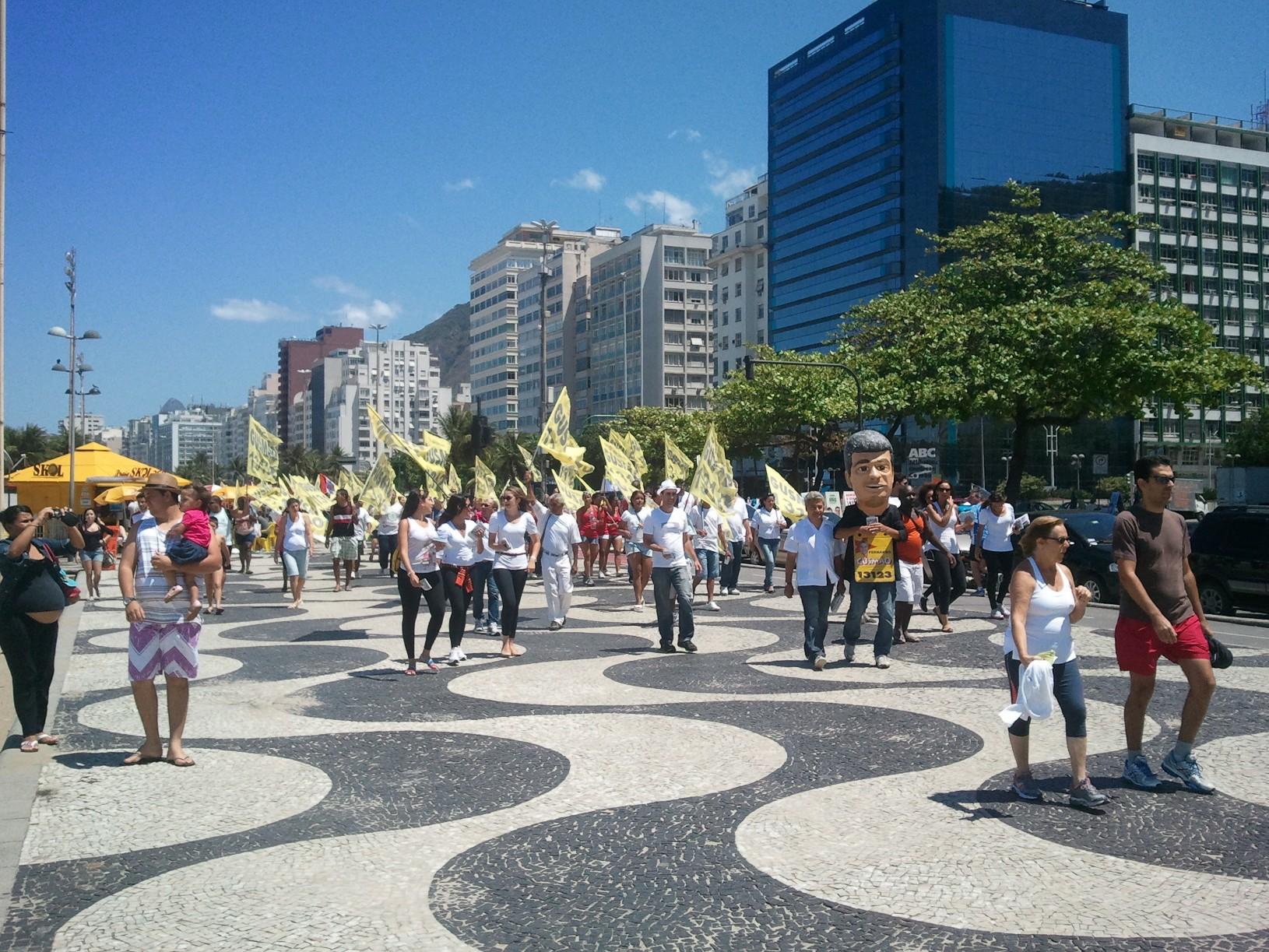 Un dimanche à Copacabana