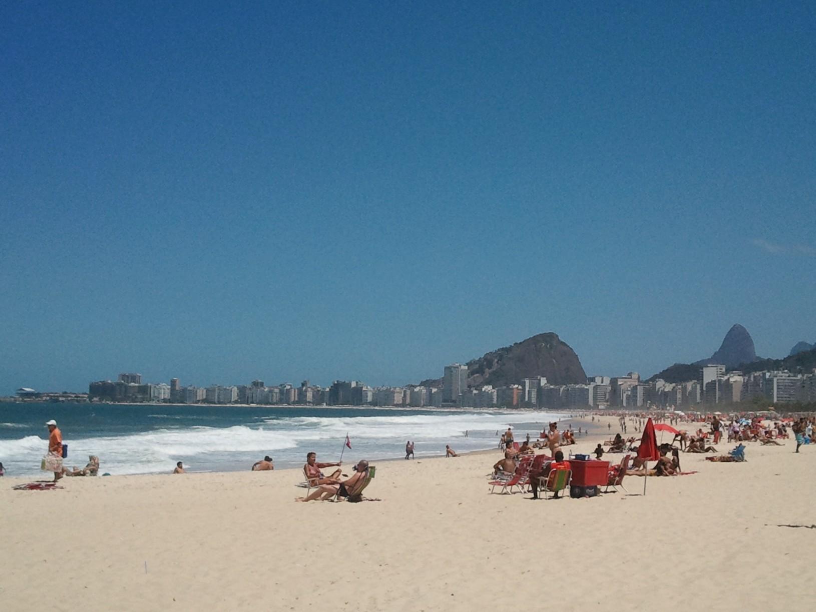 Une autre vue de Copacabana