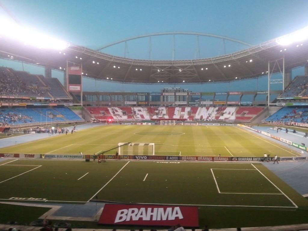 Le stade Fluminense. Maracana est fermé pour rénovation en l'honneur de la coupe du monde