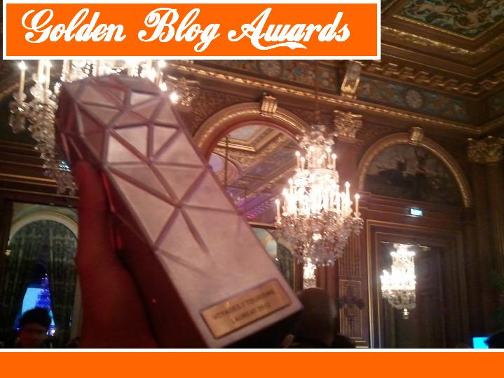 #21 – Compte rendu (d'un chanceux) : GOLDEN BLOG AWARDS 2012