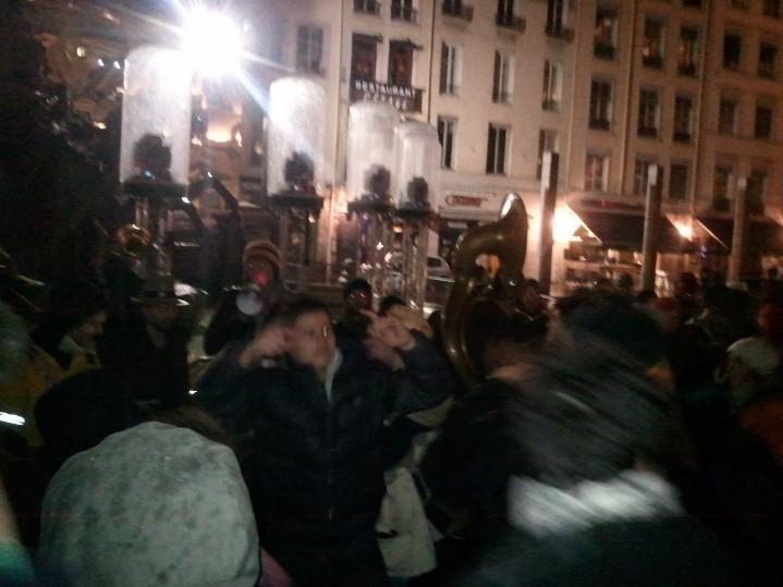Fanfares Fête des lumières Lyon 2012