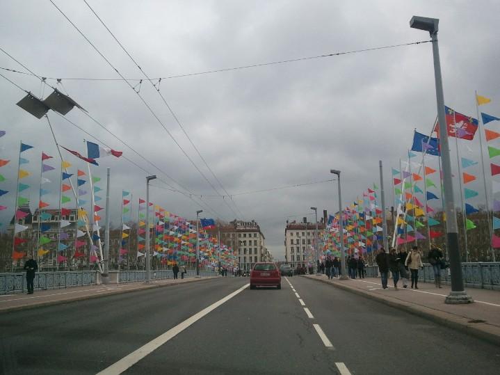 Le magnifique temps - Fête des lumières Lyon 2012