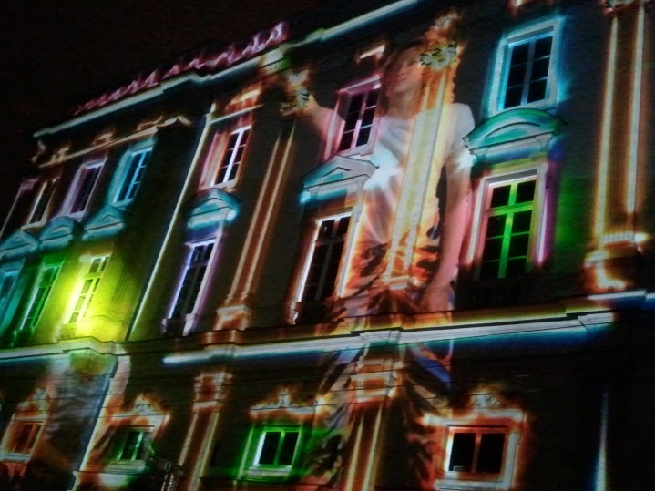 Place des terreaux - Fête des lumières Lyon 2012