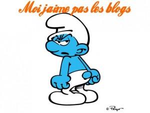 Schtroumpf grognon raleurs, aigris, frustrés, susceptibles, grincheux, français culture négativisme négatif, blogueurs, je n'aime pas les blogs, blogging, pessimisme, positif changer de vie, bonne humeur, bonheur, être heureux