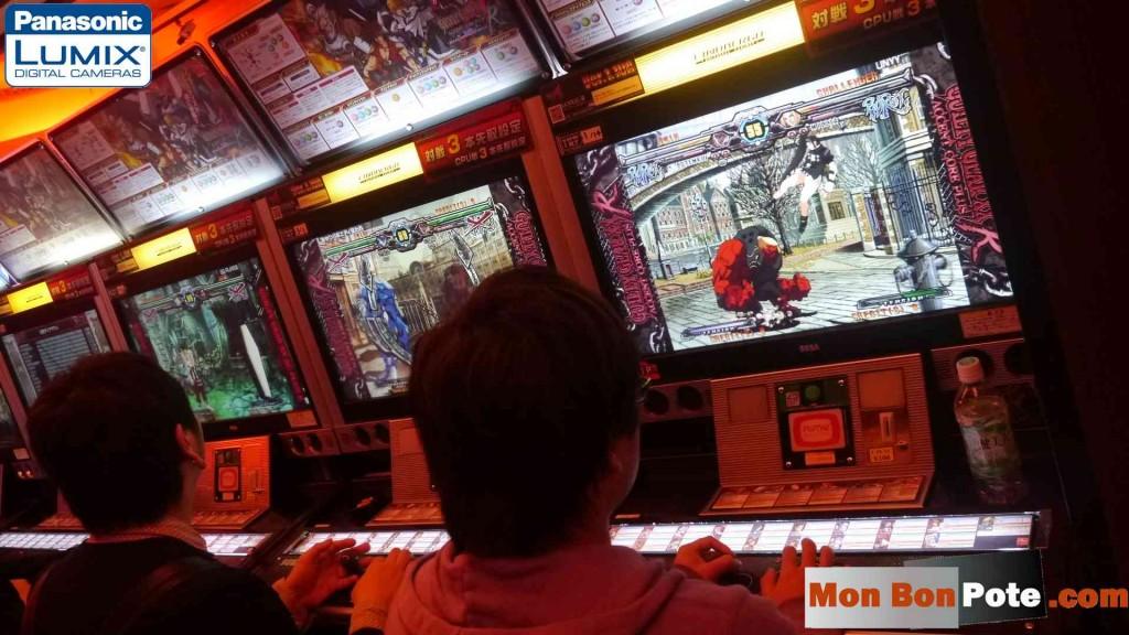 Salle d'arcade de jeux vidéo au japon