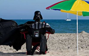 13 habitudes que les gens heureux n'ont pas, dark vador, plage