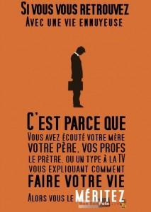 Pessimisme Français et culture de l'échec vu par Canadiens et expatriés, vie ennuyeuse citation,