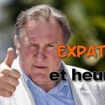 Ces français expatriés heureux d'avoir quitté la france, depardieu expatriés, expatriés français, partir de la france, quitter la france,