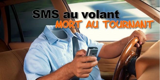 Envoyer des SMS peut coûter ta vie et celle des autres