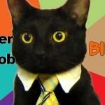 Quitter son travail, quitter son job, quitter son emploi, quitter son travail pour entreprendre, chat qui travaille, chat costard, chat cravate, changer de vie, comment changer de vie